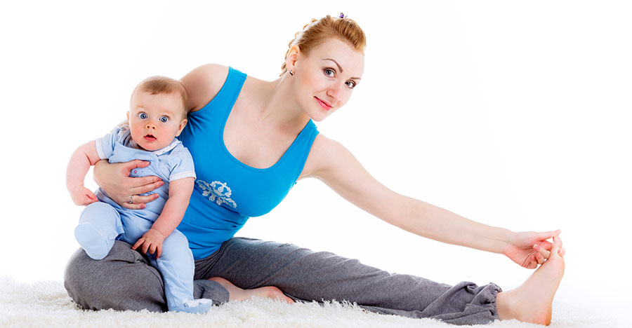 Bevalling lichaam hersteld