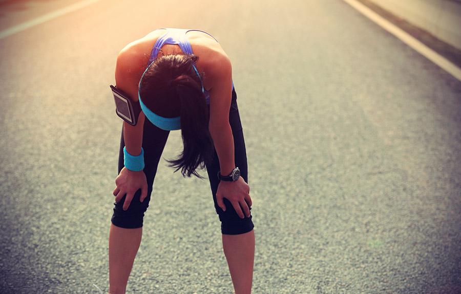 Hardlopen vermoeidheid