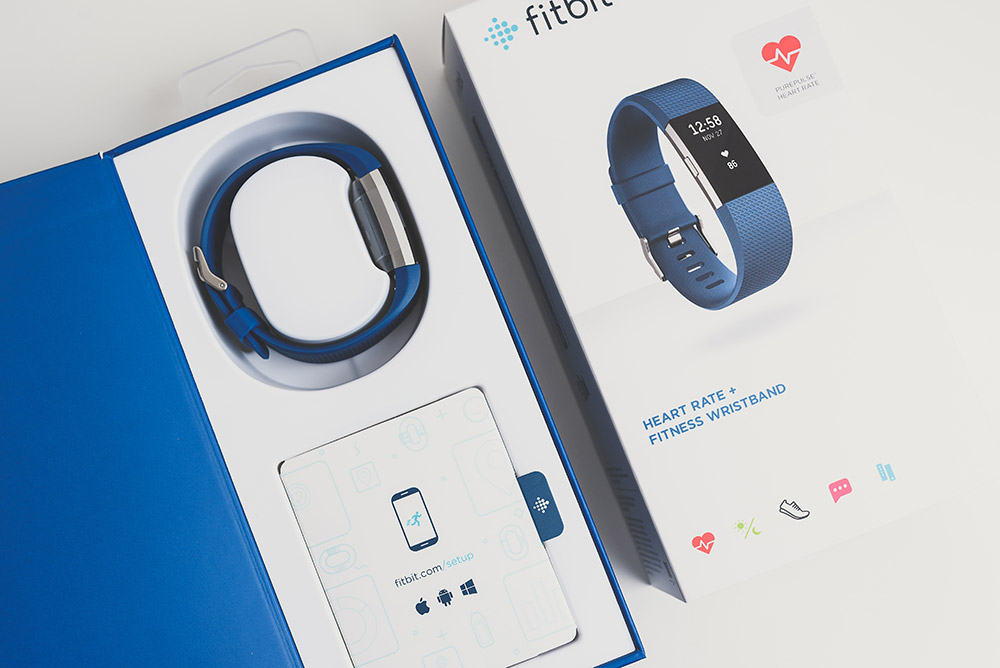 Fitbit Charge 2 unboxing