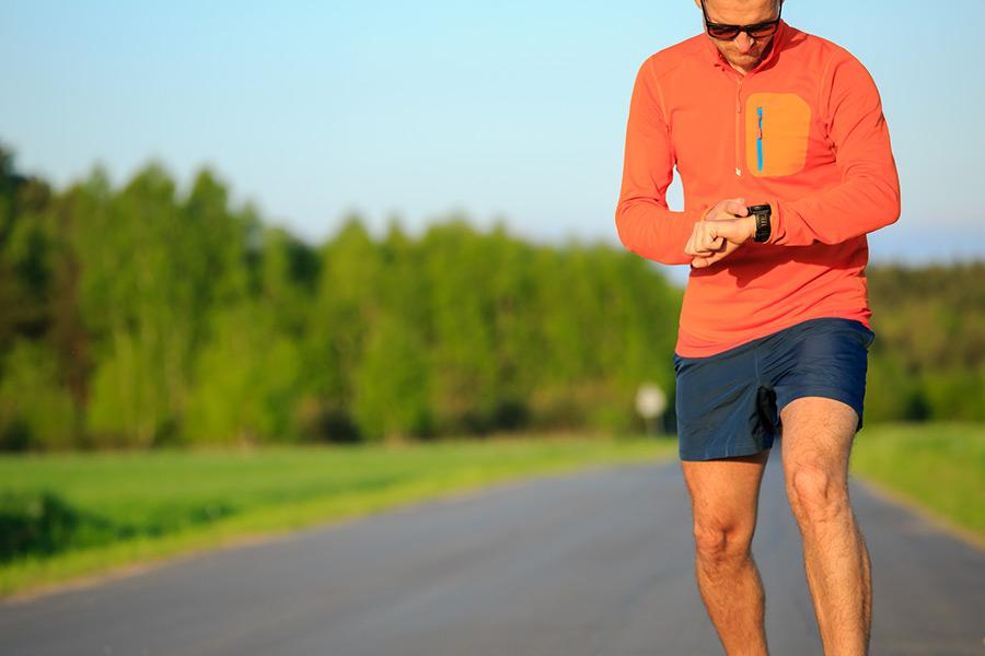 Tip 7: Gebruik een sporthorloge