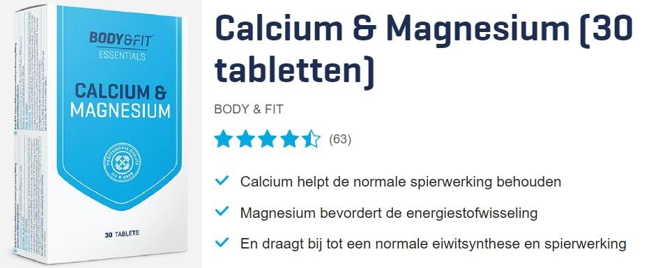 Calcium en magnesium