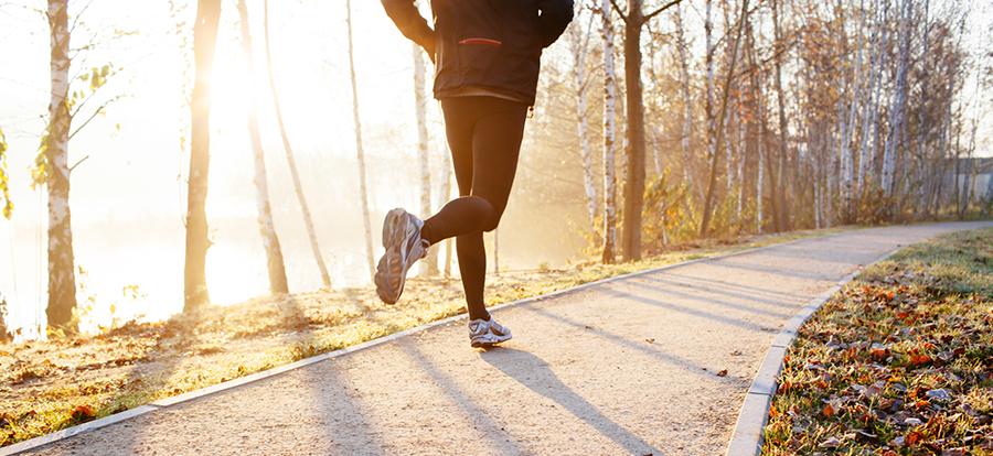 Hardlopen ochtend