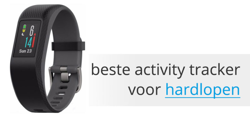 Beste activity tracker hardlopen garmin vivosport