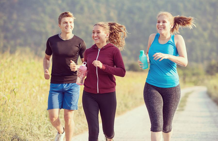 Samen hardlopen