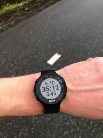 garmin forerunner 45 run