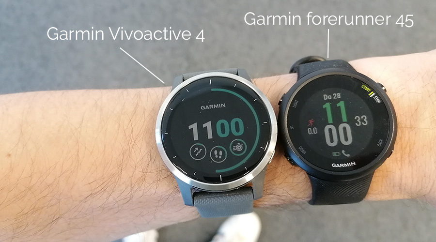 Garmin Vivoactive 4 vs Garmin Vivoactive 45