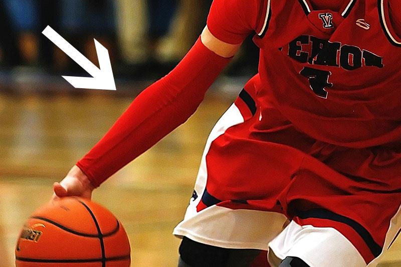 Armstukken basketbal