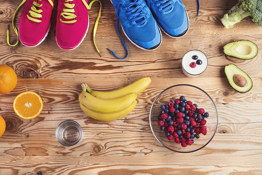 Voeding tijdens en na de training