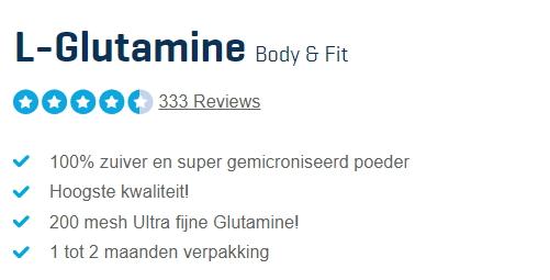 lglutamine reviews