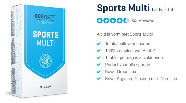 sports multivitamine