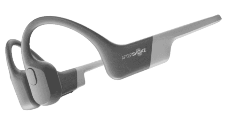 Aftershokz Aeropex grijs