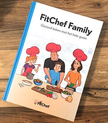 Fitchef Family boek koken met het hele gezin