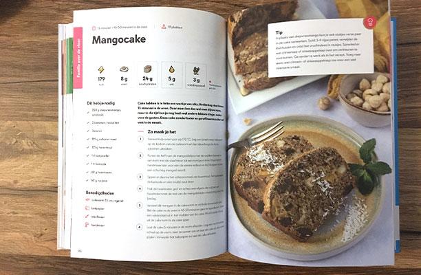Fitchef Family recept mangocake