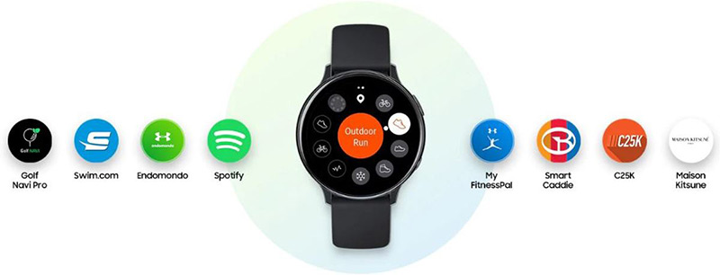 Samsung Galaxy Watch Active 2 overige functies