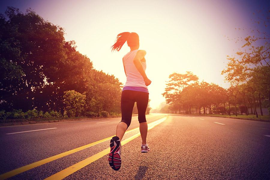 Een tip om vermoeide benen te voorkomen tijdens het hardlopen