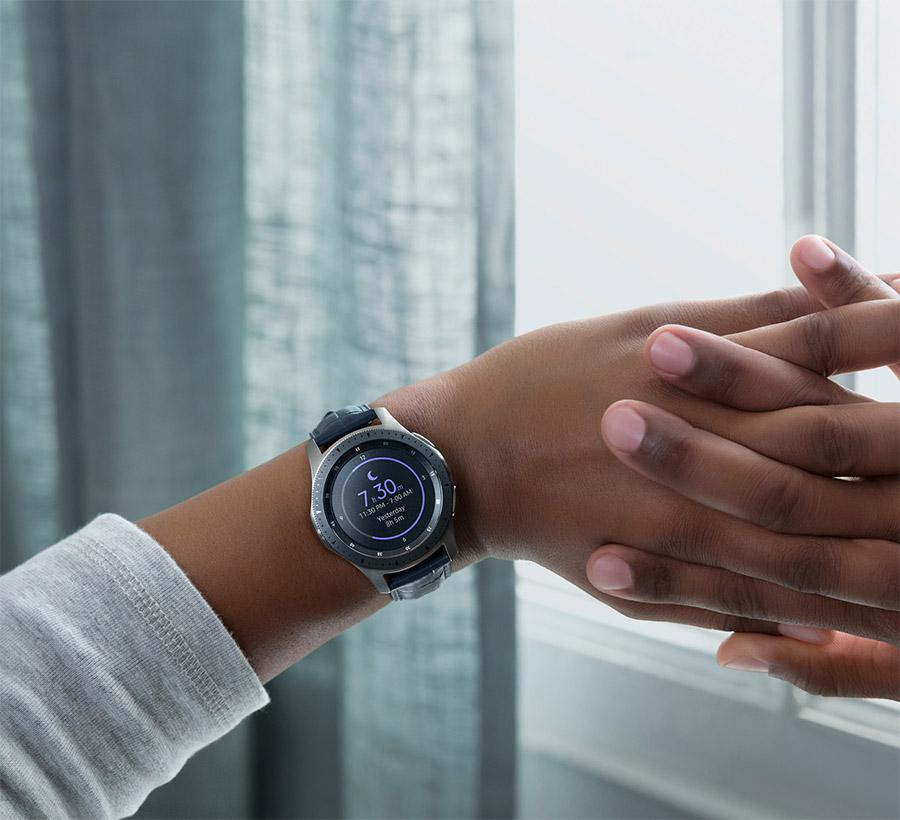 Samsung galaxy watch dragen