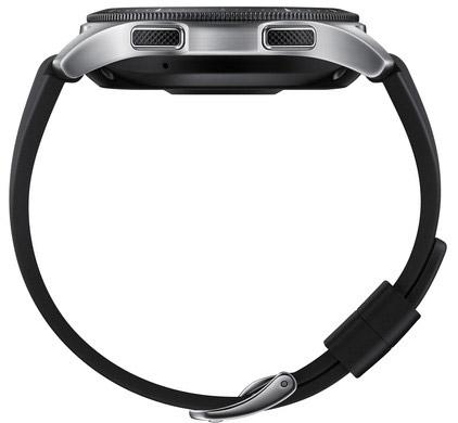 Samsung galaxy watch knoppen